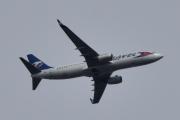 Morten 8 mai 2020 - Stort fly OK-TSE over Høyenhall, det er et Travel Service Boeing 737-81D