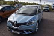 Fredag - Ny bil som er svensk men reg. nr. R8G, er ikke søkbart. Hjelp, det er en Renault, men hvilken? Jeg vet, Magnus hvisket i øret mitt. Det er en Grand Scenic 2018 og føreren heter Rolf :-)