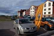 Fredag - Enda en finsk bil og han vet jeg også hvem er.  Og bilen må være en Renault Megane fra?