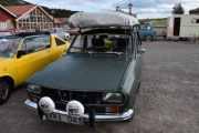 Fredag - Så kommer vi til en litt spennende bil, en Renault 12 TL R 1170 fra 1972. Og hva har den på taket tro?