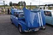 Fredag - Så møter vi noen av rallybilene som vi skal se i morgen, dette er en Renault R 1135 Gordini fra 1968 med en motor på 88hk