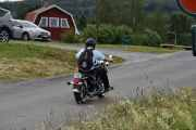 Lørdag - En Harley-Davidson fra 2008 kjører forbi, fin lyd på den også