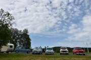 Lørdag - 5 Renault-er ser vi i dette bilde, en er nok Blåmann med en eller to n-er til slutt