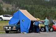 Lørdag - Dette teltet var et artig innslag
