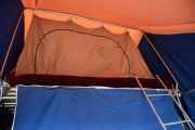 Lørdag - Vi må bare ta en nærmere titt inne i teltet også