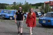 Lørdag - Junior med partner, begge kjører Renault