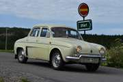 Lørdag - Men først må vi se på denne, det er en Renault R 1091 Dauphine fra 1962 med 39hk
