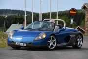 Lørdag - Da tar vi en titt, det er en Renault Spider AF0HP5 fra 1998 med en motor på 147hk