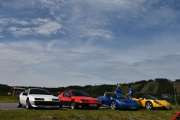 Lørdag - 2 Renault Alpine A310 og 2 Renault Spider kan vi registrere her