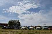 Lørdag - Og til slutt så står det 3 Renault 4CV og 4 Renault Dauphine. Da er det 16 biler på denne rekken