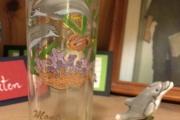 Delfin drammeglass og Delfin keramikk sammen