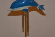 Delfin med uro-spill