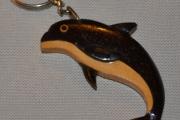 Delfin nøkkelring