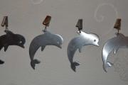 Delfiner som duk hengere