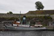 Neste båt er DS Styrbjørn som ble bygget i 1910 og er en dampbåt.