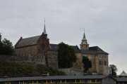 Akershus festning fra 1299, her er det mye historie i veggene
