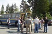 2005 - Men det er ikke samme bussen, dette er Kjønstad sin buss vi kjørte og stoppet på Sollihøgda