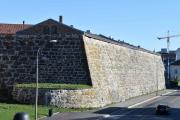 Det har gått med en del stein når Akershus Festning ble bygget, det er store bygg vi snakker om