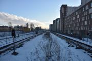 Ankomst Storo stasjon, og her står jeg i enden av perrongen, kunne også ha skrevet at her hoppet jeg ned og stod mutters alene mellom T-bane sporene