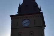 Her starter jeg foto-turen, har gått fra Grønland og klokken er 12 minutter over åtte på morgenen