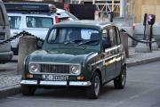Men på Tullinløkka oppdager jeg noe spennende, en gammel bil
