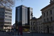 Radisson Blu hotell, i gamle dager het det SAS hotellet på Holbergs plass
