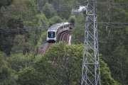 Du har også på et punkt her oppe, et sted hvor du kan se T-banen komme fra Hellerud