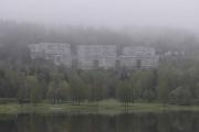 Dem som bor her må ha en fantastisk utsikt over Bogstadvannet