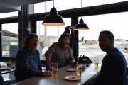Ankomst 5 februar Oslo Lufthavn Gardermoen klar for turen til Paris