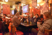Ankomst Paris - Vi opplever kveldslivet i Paris
