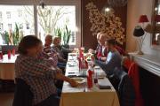Siste dagen i Reims og vi tar en lunsj før vi reiser til Paris