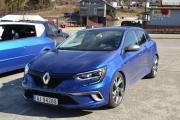 Så kommer en Renault Megane som har fått reparert girkassa si