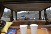 Kaffe og rundstykker og en suveren utsikt