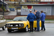 Gul Renault 17 var i flertall her i dag