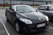 Neste bil er nybilen (2011) til webmaster som er en Renault Megane