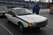 Så kommer senior `s bil som er en Renault Fuego TX og skal jeg gjette årsmodell sier jeg 1981