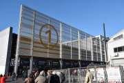Retromobile 2020 - Inngangen til messehallen i Paris, skal vi ta en liten titt?