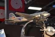 Retromobile 2020 - Har flyet en historie eller er det bare en modell? Pan American World Airways - PAA NC33611 som er et Douglas DC-3 fly