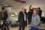 Marianne og Vidar, Anker med tysk TV i bakgrunnen