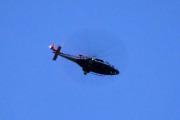 Morten 2 august 2021 - Politihelikopter over Høyenhall på kvelden, det var også det eneste vi så i dag