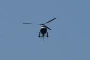 Morten 24 juli 2021 - LN-OFY hilser på oss på Høyenhall, når et helikopter står slik en stund og ser på deg, begynner du å tenke på om du har gjort noe galt