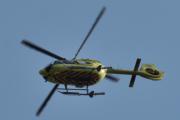 Morten 24 juli 2021 - LN-OOP besøker Høyenhall, med sitt Airbus Helicopters H145