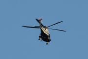 Morten 30 juli 2021 - Politihelikopter over Høyenhall, vi fikk med kveldssolen da