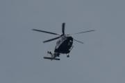 Morten 8 august 2021 - LN-ORB besøker Høyenhall, her kommer Politiet med sitt Leonardo Spa AW169