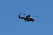 Morten 1 september 2020 - Politihelikopter over Høyenhall, jeg har bestemt meg å ikke identifisere dem. De passer jo på oss