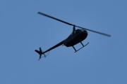Morten 11 oktober 2020 - LN-OGT over Høyenhall, det er et Robinson R44 som Helikopterdrift eier
