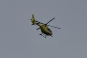 Morten 13 september 2020 - Redningshelikopter over Høyenhall, her er dem ute å jobber på en søndag igjen