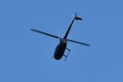 Morten 2 september 2020 - LN-OGT over Høyenhall, det er et Robinson R44 som Helikopterdrift på Kjeller eier. Sikkert han som var her før i dag også