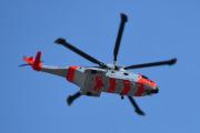 Morten 2 september 2020 - Redningshelikopter over Høyenhall, men dette er jo ikke samme helikopteret som vi så i forrige uke