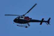 Morten 24 august 2020 - Helitrans over Høyenhall, det er et Eurocopter AS 350 B3 7796 som Nordenfjeldske luftfart eier